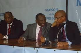 Les opposants Cellou Dalein Diallo, Sidya Touré et Lansana Kouyaté