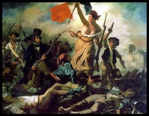 La Liberté guidant le peuple. Eugène Delacroix (Musée du Louvre)