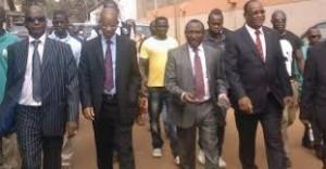 Les ténors de l'opposition guinéenne.
