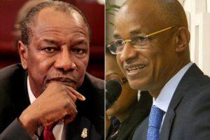 Président Alpha Condé et l'opposant Cellou Dalein Diallo